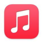 Mac music application icon
