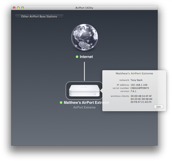 Change an AirPort Extreme's DNS Servers | Macinstruct