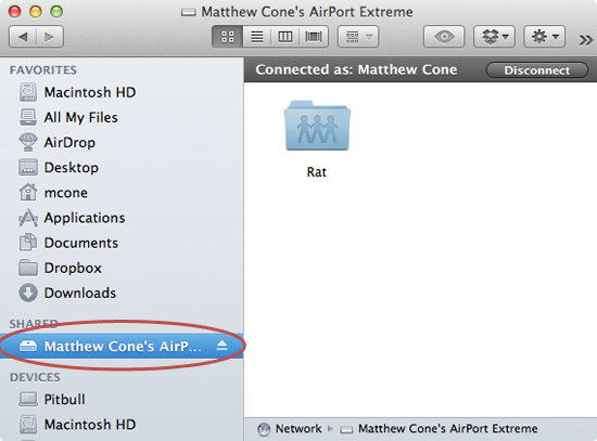 How to Connect a Hard Drive to the AirPort Extreme | Macinstruct