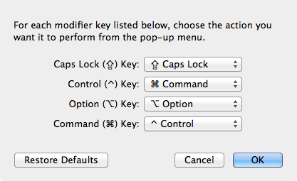 How to Switch the Control and Command Keys | Macinstruct