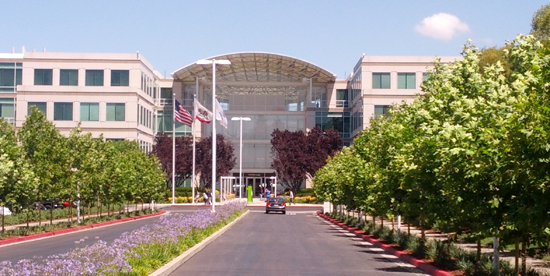 Image of Apple's Campus in Cupertino