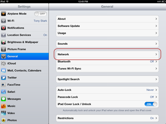 How to Change Your iPad's DNS Servers | Macinstruct