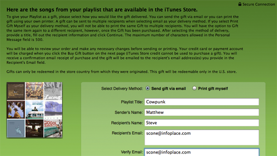 how to create playlist to itunes