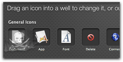 Changing the icons on your Mac