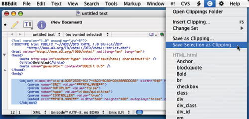BBEdit on Mac