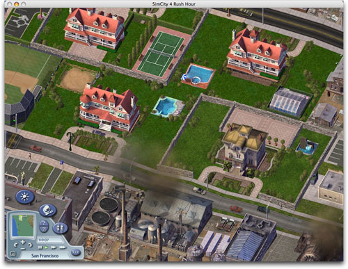 SimCity 4 on Mac