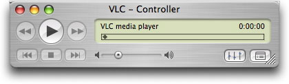 VLC application for Mac