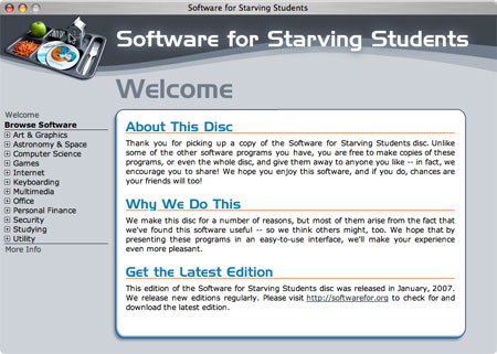 Mac software for starving students