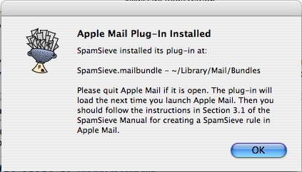 Stopping spam email on a Mac