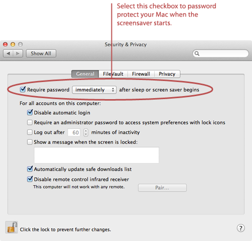 How to Password Protect Your Mac | Macinstruct