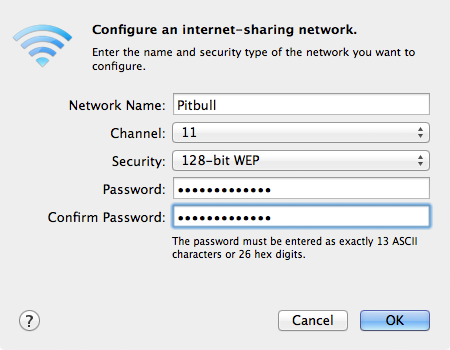 Airport has the self-assigned ip address