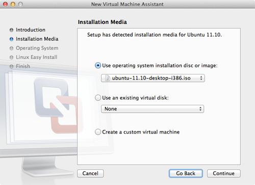 How to Install Ubuntu 11 10 Using VMware Fusion   Macinstruct